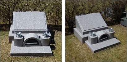 デザイン墓石 外人墓地