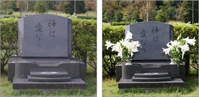 デザイン墓石 キリスト教