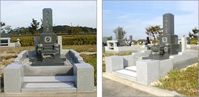 基本形9寸墓碑
